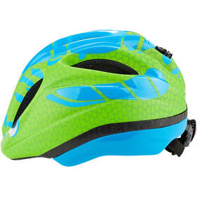 KED Meggy Trend Casco Niños, dino light blue green